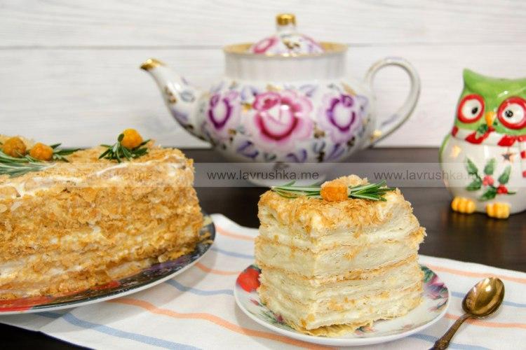 Торт Ленивый Наполеон