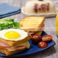 Сэндвичи крок-месье и крок-мадам